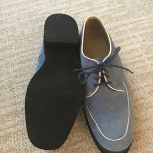 Suede Lace up brogues